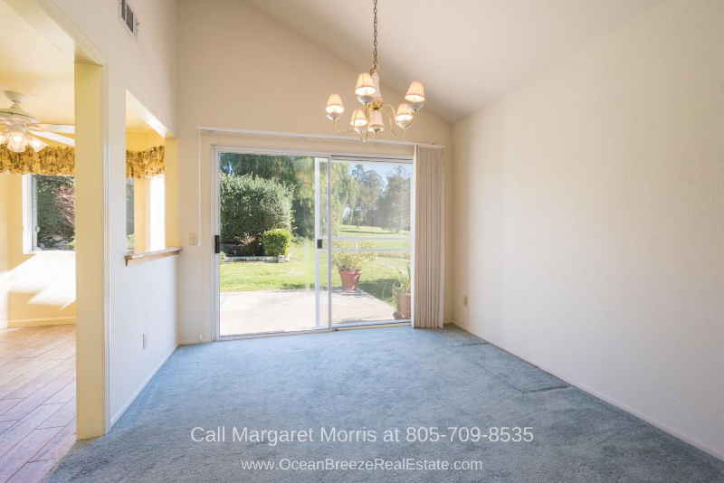 Golf Homes in Nipomo CA  - You'll love the seamless flow of spaces in this updated home for sale in Nipomo.