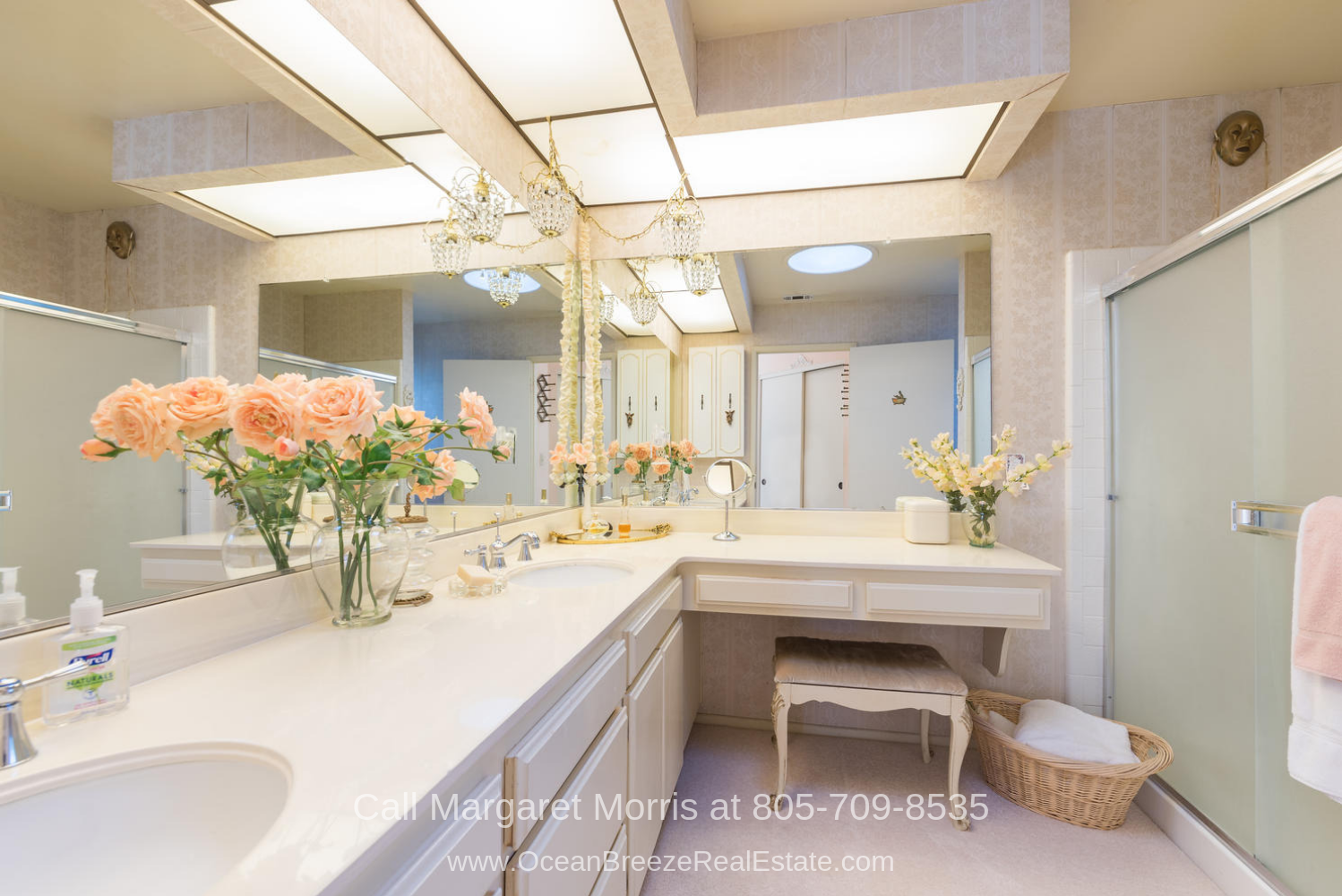 Golf Homes for Sale in Nipomo CA - Enjoy the best home pampering in the large master bathroom of this golf home for sale in Nipomo CA.